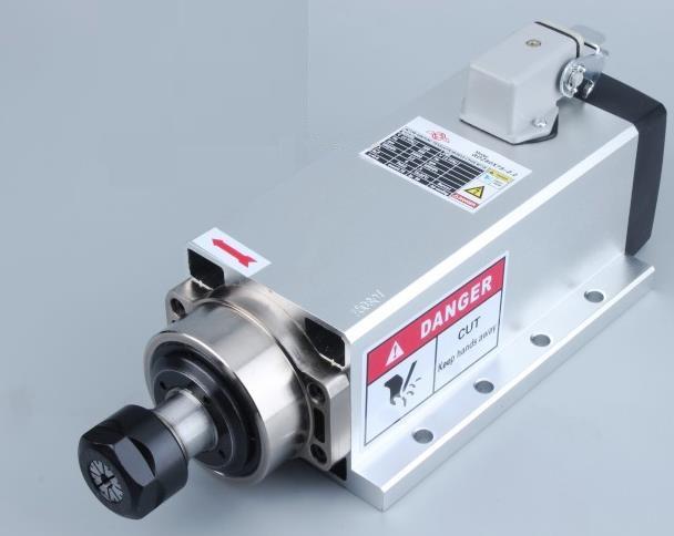 Шпиндель фрезерного станка с ЧПУ с воздушным охлажденим