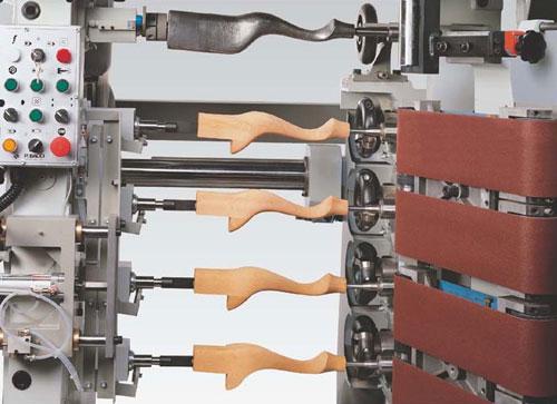 Одноголовочный копировально-фрезерный станок со станиной и с ЧПУ
