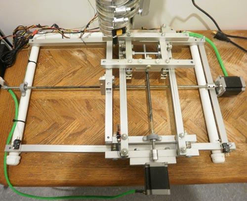 Алюминиевая рама для самодельногоо фрезерного станка