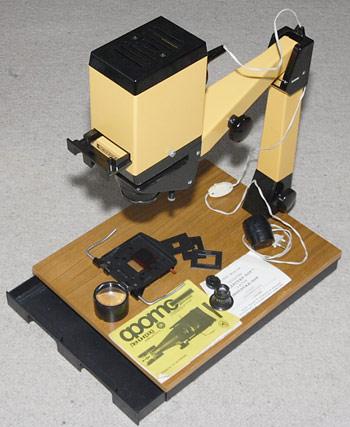 Конструкция старого фотоувеличителя