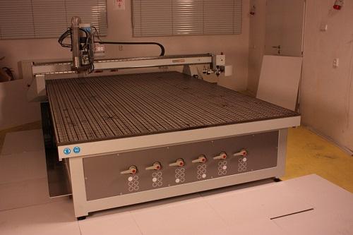 Крупногабаритный вакуумный стол для станка ЧПУ