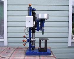 Пример создания самодельного станка из рулевой рейки