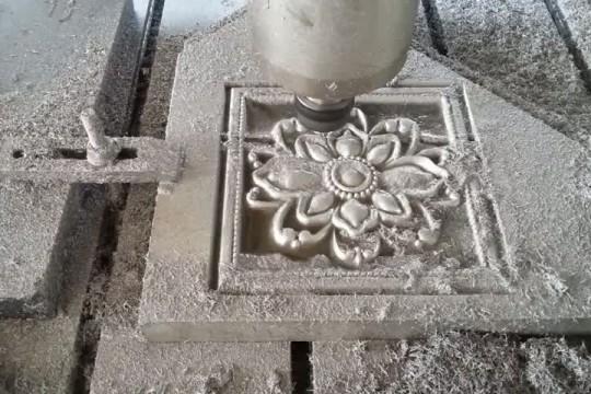 Процесс оаботы фрезерно-гравировального станка по камню