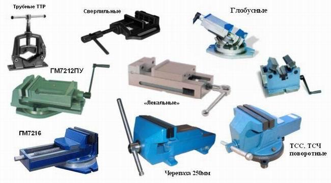 Некоторые модели слесарных станков