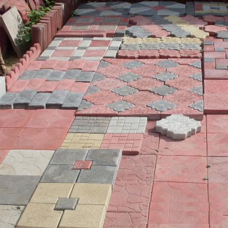 Виды тротуарной плитки, которую можно сделать своими руками