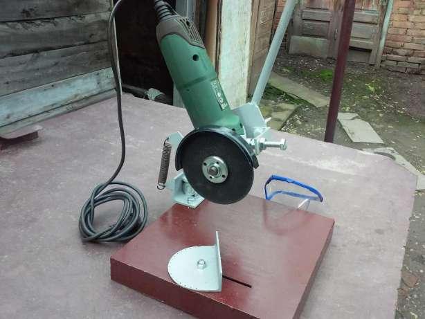 Отрезной станок из болгарки сделанный своими руками