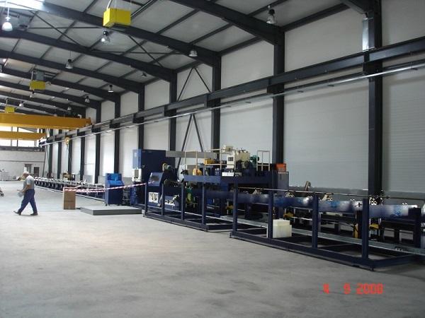 Склад на заводе компании