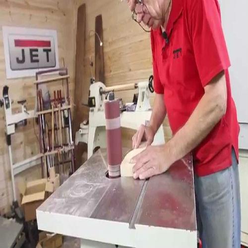 Обработка дерева на станке Jet