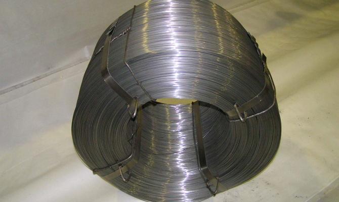 Для изготовления гвоздей используется низкоуглеродистая стальная проволока