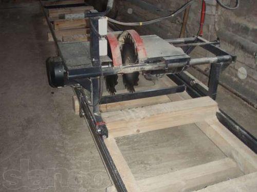 Пилорама для раскроя древесины