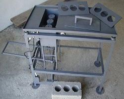 Станок для изготовления шлакоблоков
