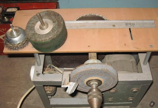 Самодельный заточной станок для сверл
