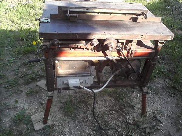 Самодельный станок для изготовления вагонки