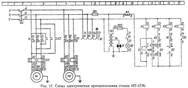 Электрическая схема ИТ-1ГМ