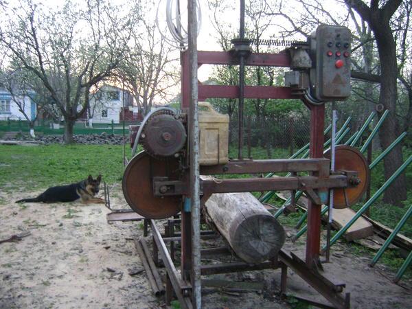 Ленточнопильный станок по дереву сделанный своими руками