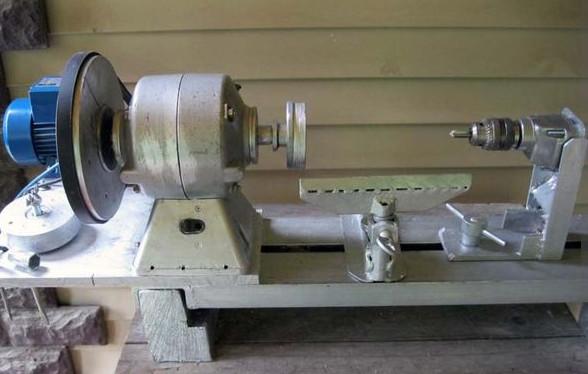 Как сделать мини токарный станок дома