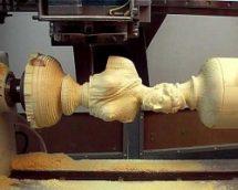 Как работает 3D станок для резьбы по дереву?